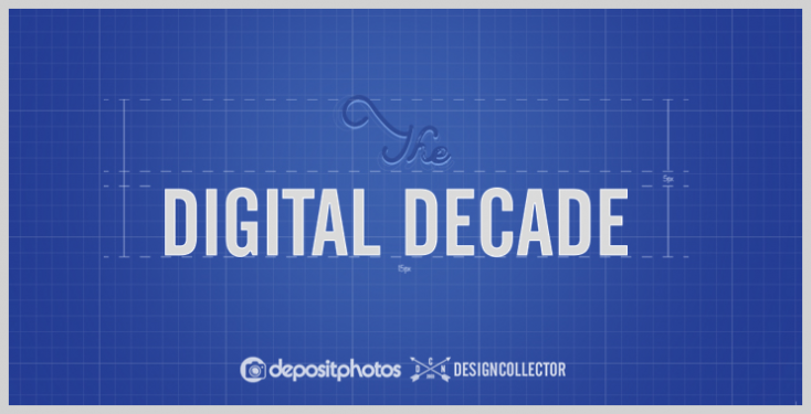 The Digital Decade: join the contest from Depositphotos and Designcollector!