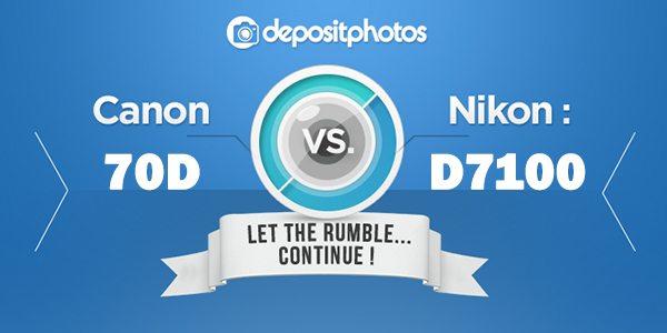 The Rumble Continues: CANON 70D VS. NIKON D7100