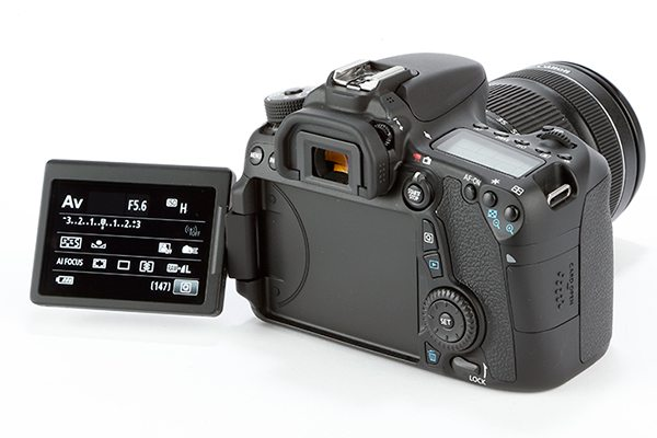 Canon EOS 70D product shot