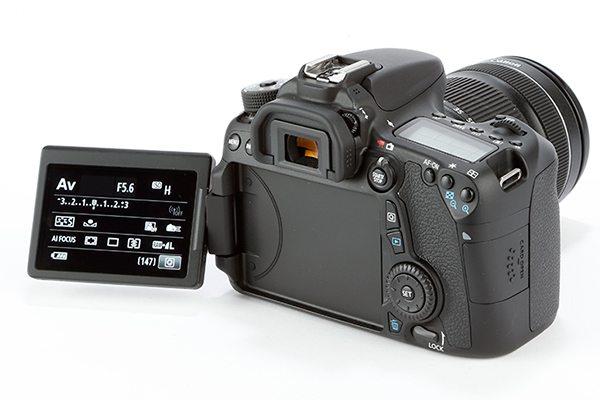 Canon EOS 70D product shot