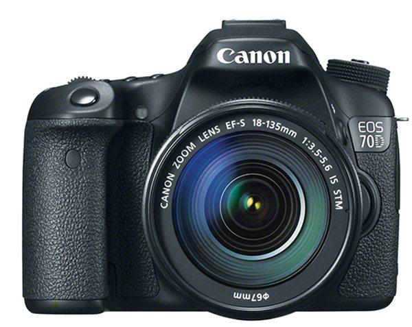 Canon 70D, front image