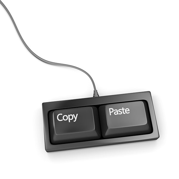 Copy paste keyboard - plagiarist tool