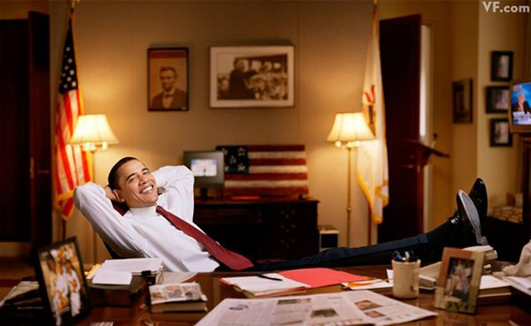 Jonas Fredwall Karlsson portraits of Barack Obama