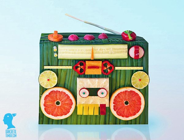 Food sculptures