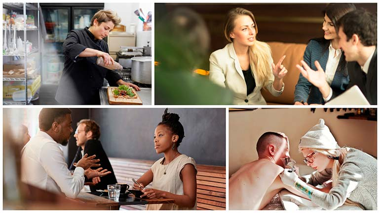 closing the gender gap in stock photography professional women