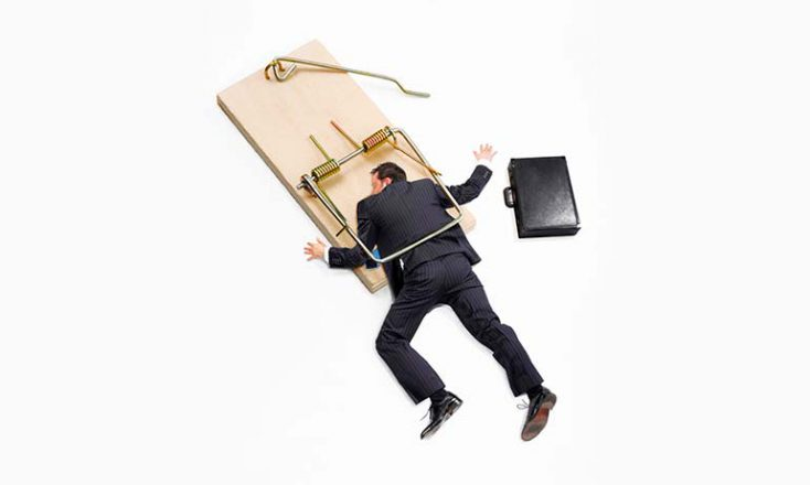 Don't Fall in the Trap of Cliche Stock Photography