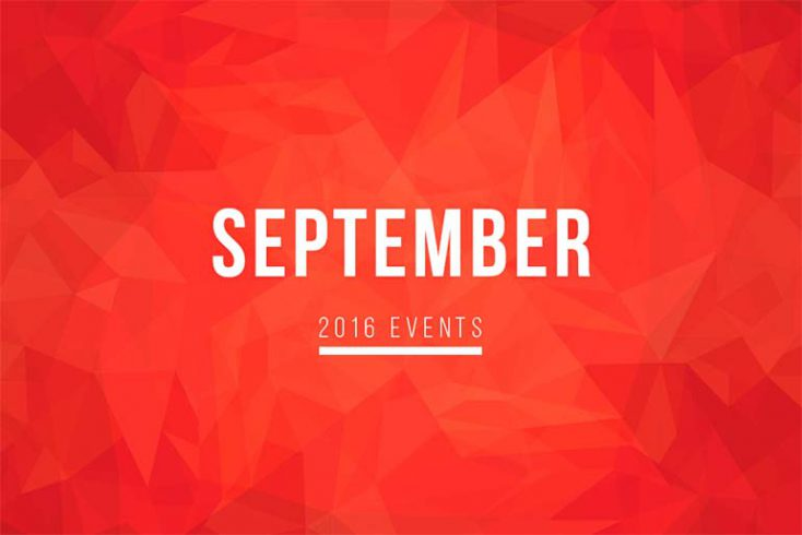 Don't Miss Out on These September Events!
