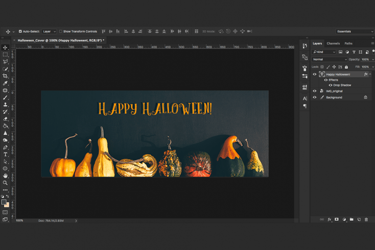 Create Your Own Halloween Banner With This Simple Tutorial