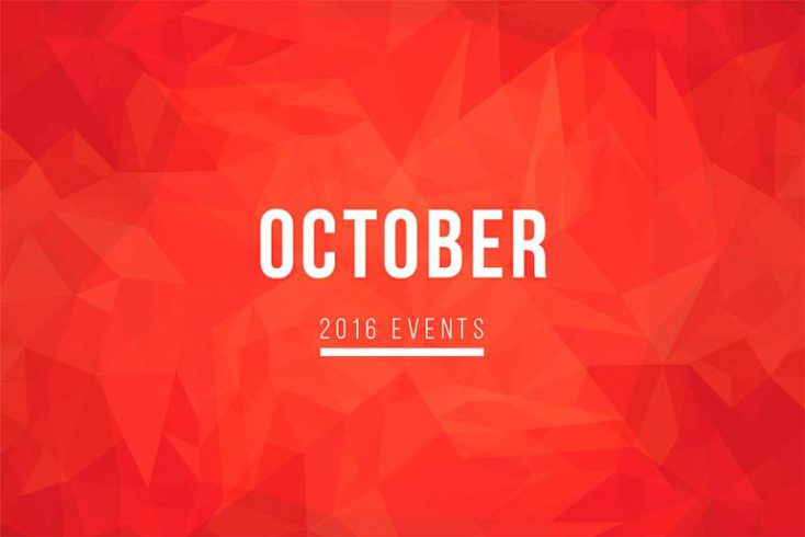 October Events to Attend