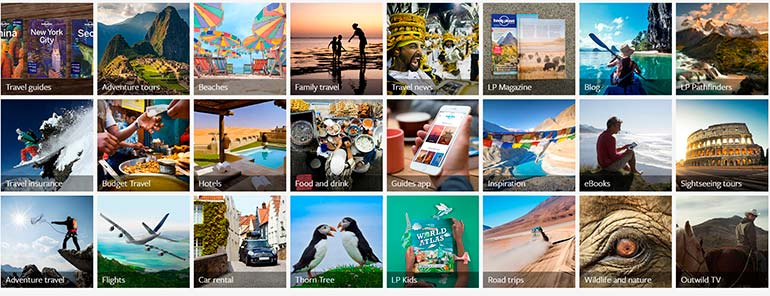 lonely planet photogrpahy and web design 2