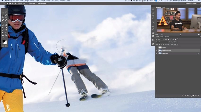 photoshop tutorials for photographers removing people from background