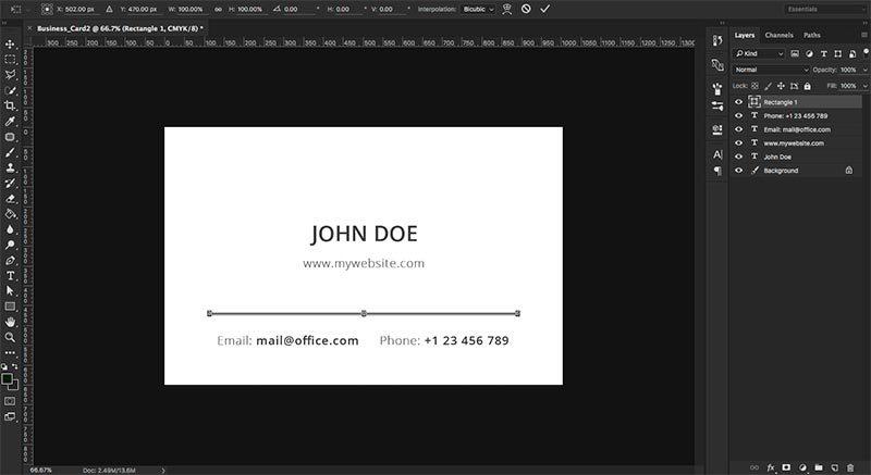 Business Card Design For Photographers Depositphotos Blog