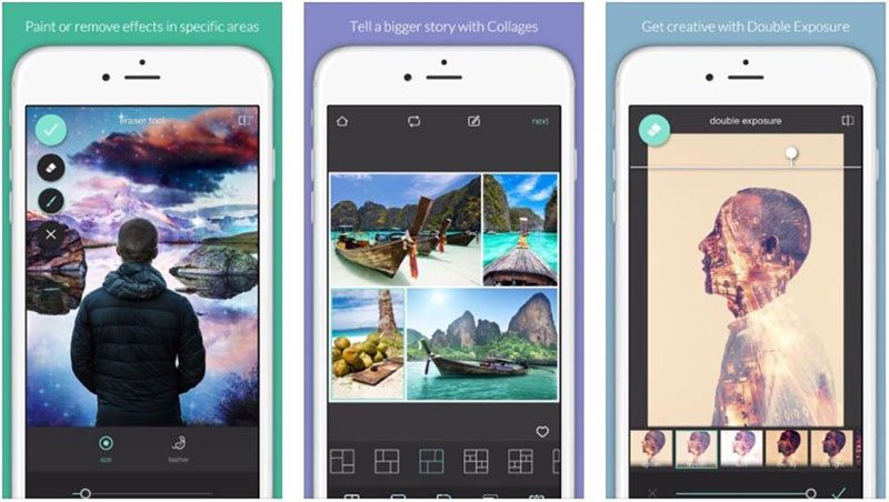 how to use Pixlr editing apps for iphone and android