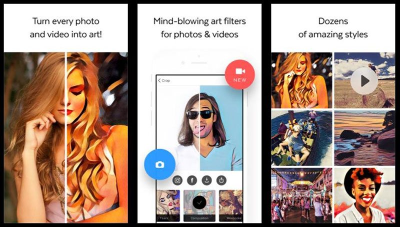 how to use prisma photo editing apps for iphone and android