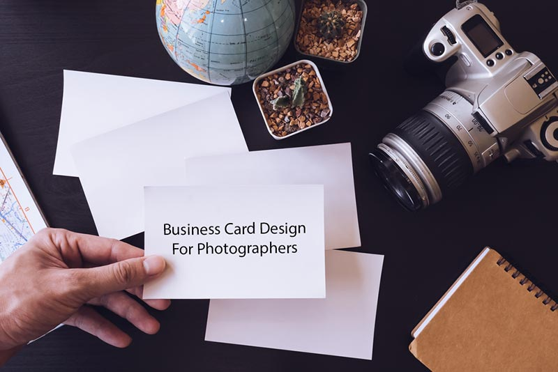business card design for phtotographers easy tutorial