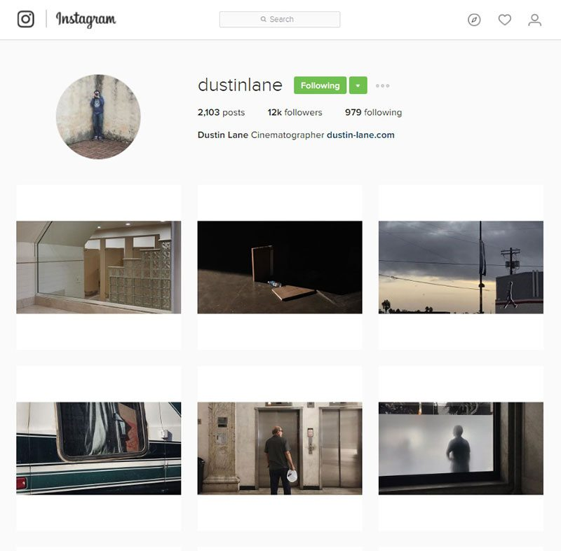 dustinlane inspiring instagram accounts for photographers