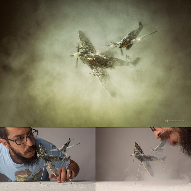 felix-hernandez-war-wings-miniature-photography