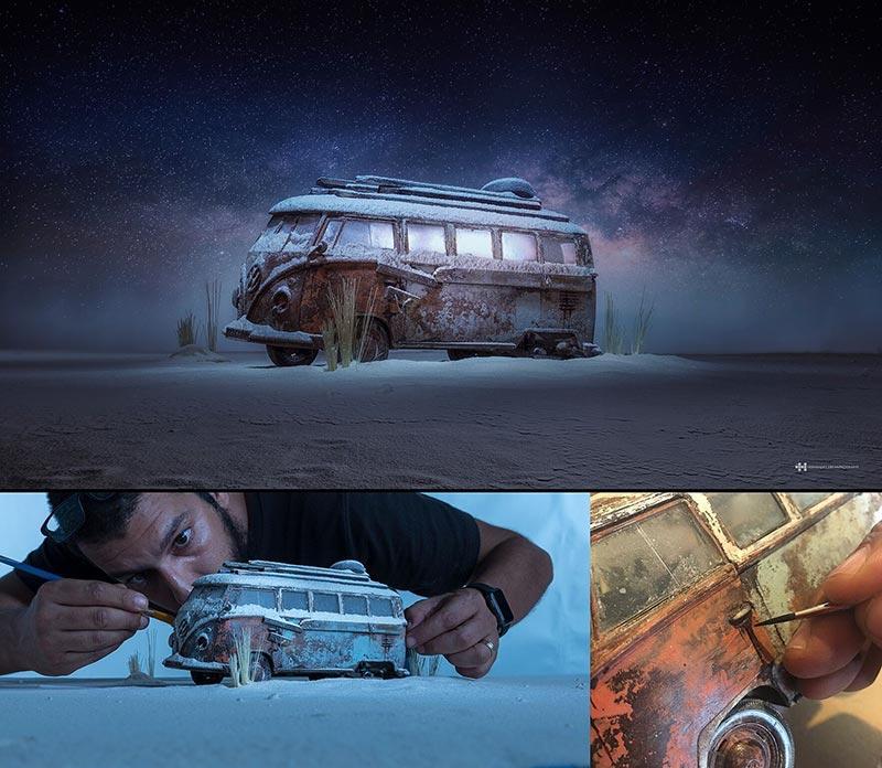 felix-hernandez-inner-trip-miniature-photo-shoot