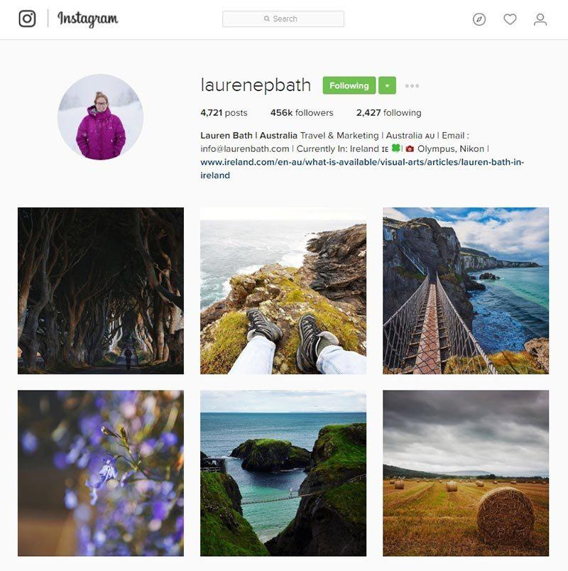 laurenepbath inspiring instagram accounts for photographers