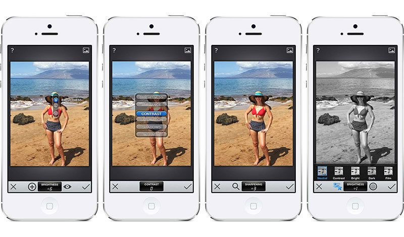 how to use Snapseed editing apps for iphone and android