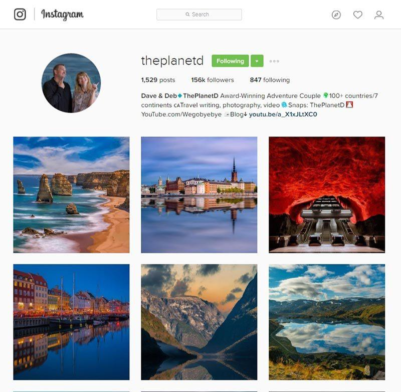 theplanetd inspiring instagram accounts for photographers