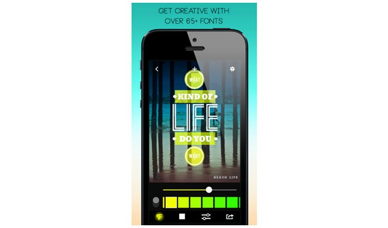 how to use font candy photo editing apps for iphone and android