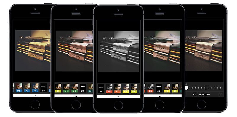 how to use VSCO editing apps for iphone and android