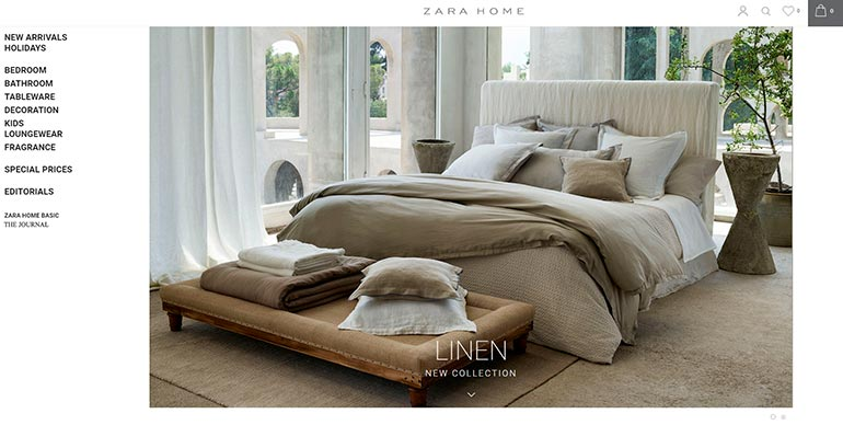 zara-home-examples-of-good-photography-on-a-website