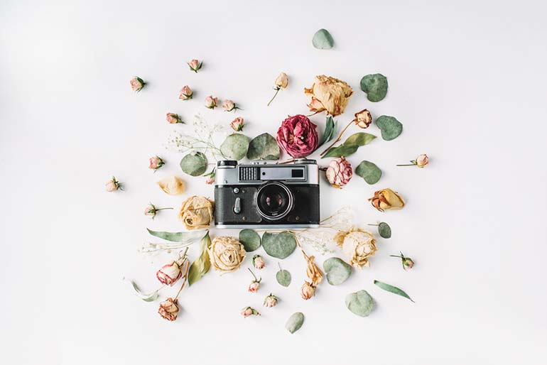 mastering the art of flat lay design and photography