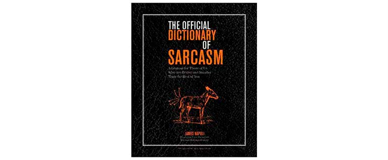 christmas gift ideas dictionary of sarcasm