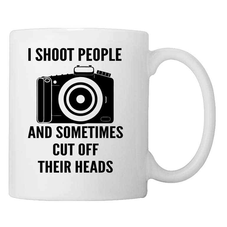 i shoot people mug gifts for photographers