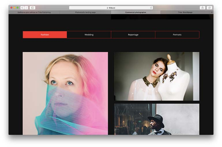 how to build a website for photographers