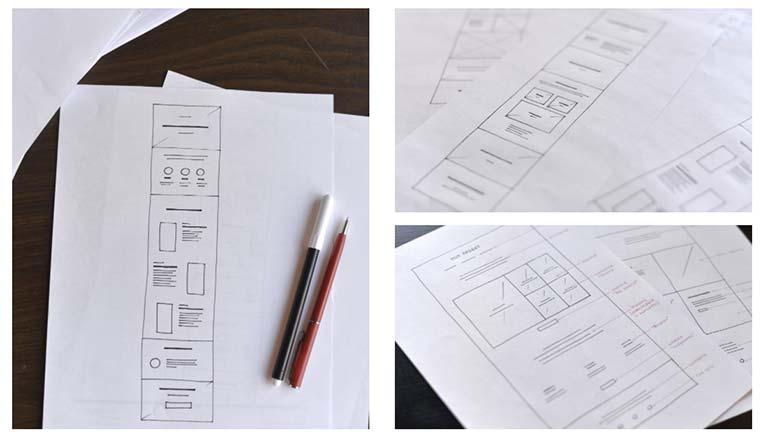 how to design a photography portfolio website