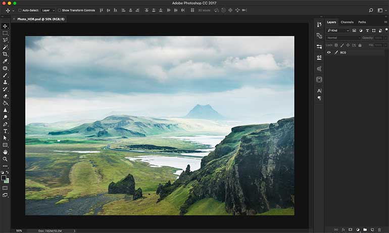 hdr photoshop tutorial 1