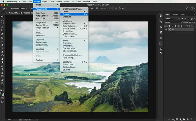 hdr photoshop tutorial 2