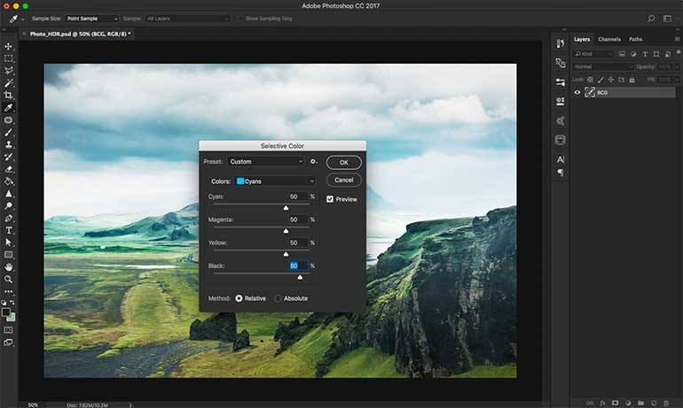 hdr photoshop tutorial 6