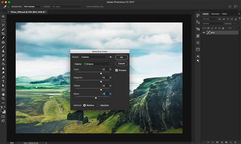 hdr photoshop tutorial 7