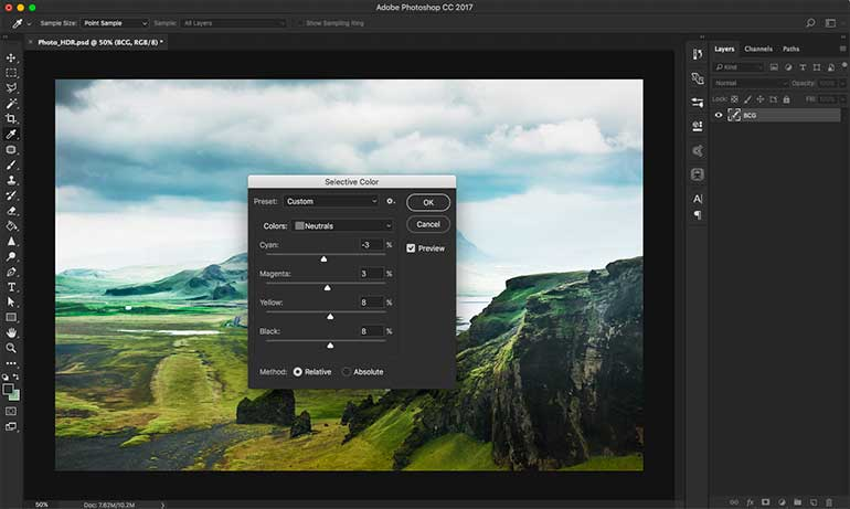 hdr photoshop tutorial 8