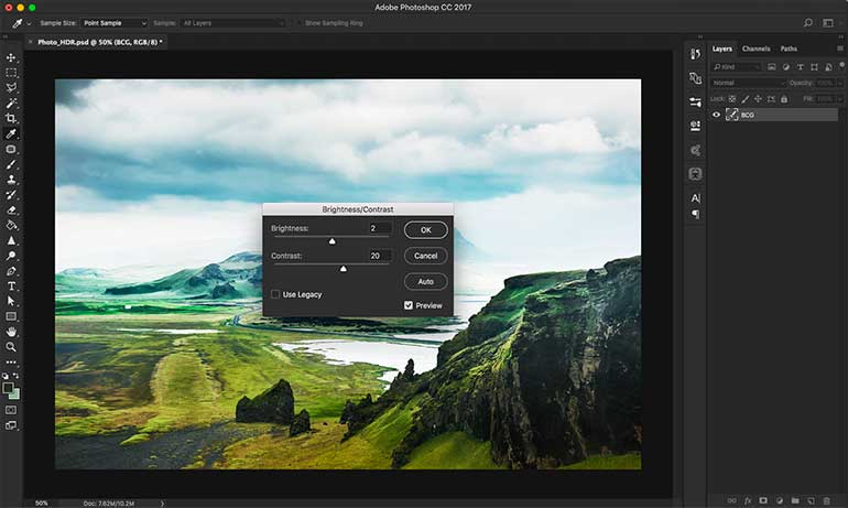 hdr photoshop tutorial 9