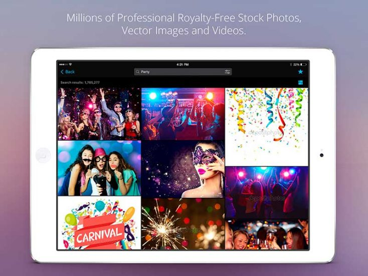 Depositphotos Mobile App: Download Stock Photos on the go!