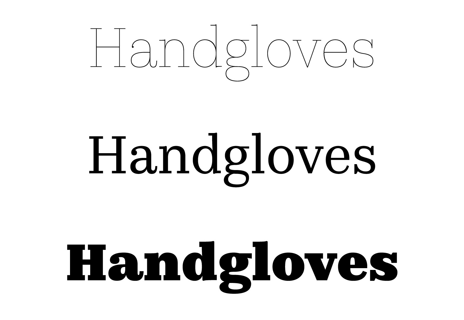 guide to font characteristics and their use in design