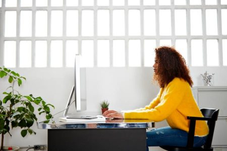 modern workplace stock photography