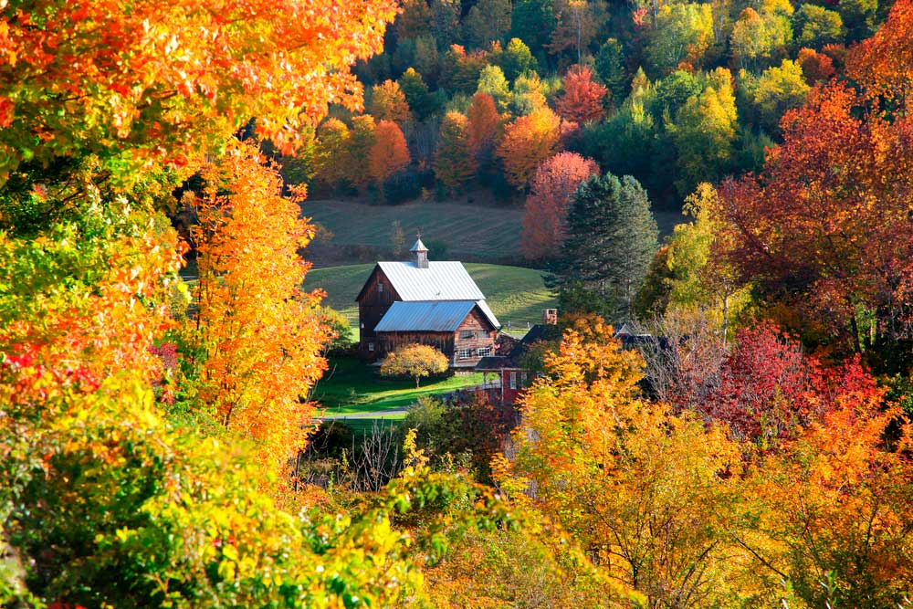 top travel destinations for photographers vermont