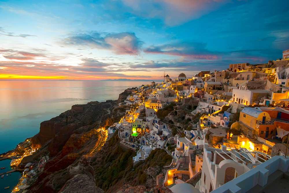 top travel destinations for photographers santorini