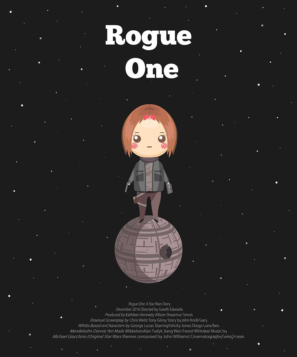 alternative movie posters Nadezhda Arkhipova Rogue One