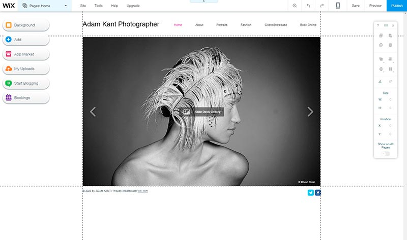 5 User Friendly Website Builders to Start a Photography Career 4