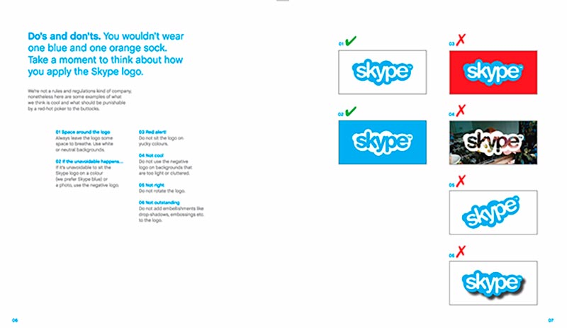 skype style guide