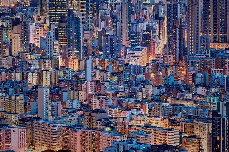 photography of hong kong by Romain Jacquet-Lagreze