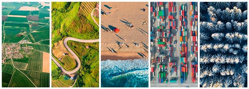 featured collection drone photography