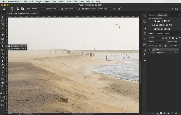 removing objects from images in photoshop 4
